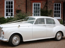 Bentley for wedding hire in central London